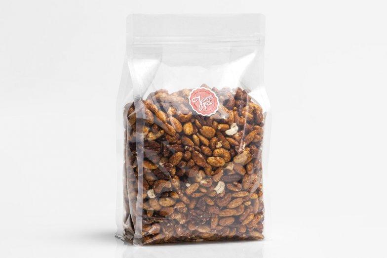 Pečené ořechy s chilli