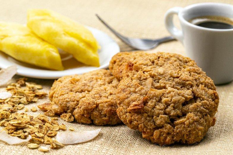 Ananasová sušenka bezobal
